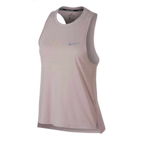 c11b229c9c6dc Nike Women s Dry Miler Running Tank Top in Pink. M 5b5d062a1e2d2d17e567ebf1